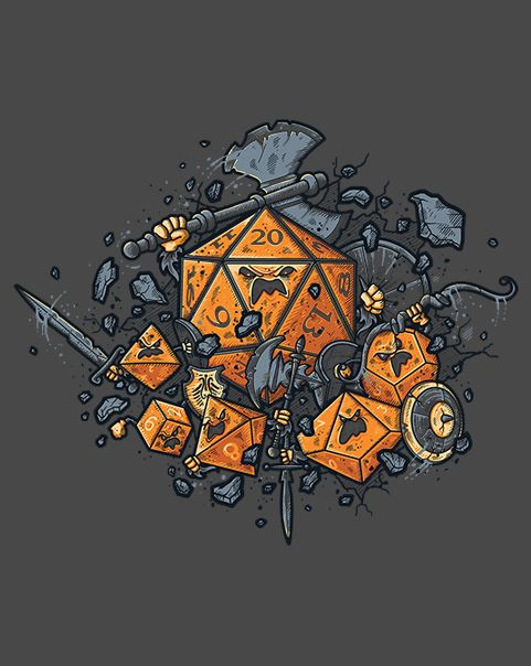 RPG United T-Shirt $10 RPG tee at ShirtPunch today only!