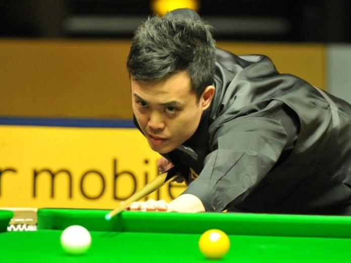 Marco Fu, Finals, Betfair German Masters Snooker 2013. Ali Carter 9-6 Marco Fu