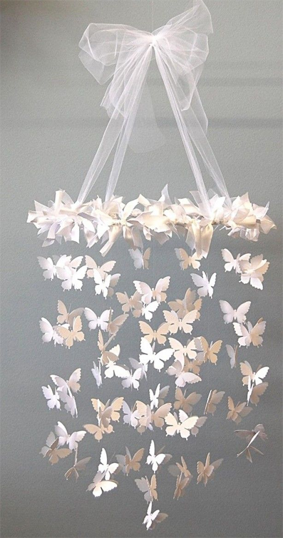 Vlinders bij de versiering... mooi en elegant