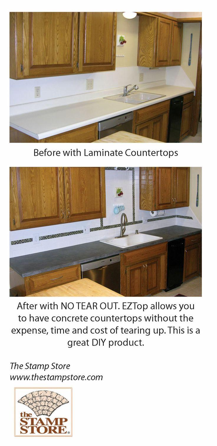 Concrete Countertop Over Laminate Best 25 Concrete Countertops Over Laminate Ideas That You Will