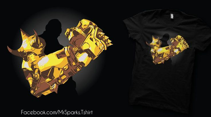 My last design is on Qwertee! You can vote it here:    https://www.qwertee.com/product/the-weapon-doom-fist    #doomfist #overwatch #multiplayer #gaming #twitch #qwertee #shirtpunch #teefury #teetee #riptapparel #designbyhumans #mrsparks #instaoftheday #artoftheday #digitalart #art #illustration