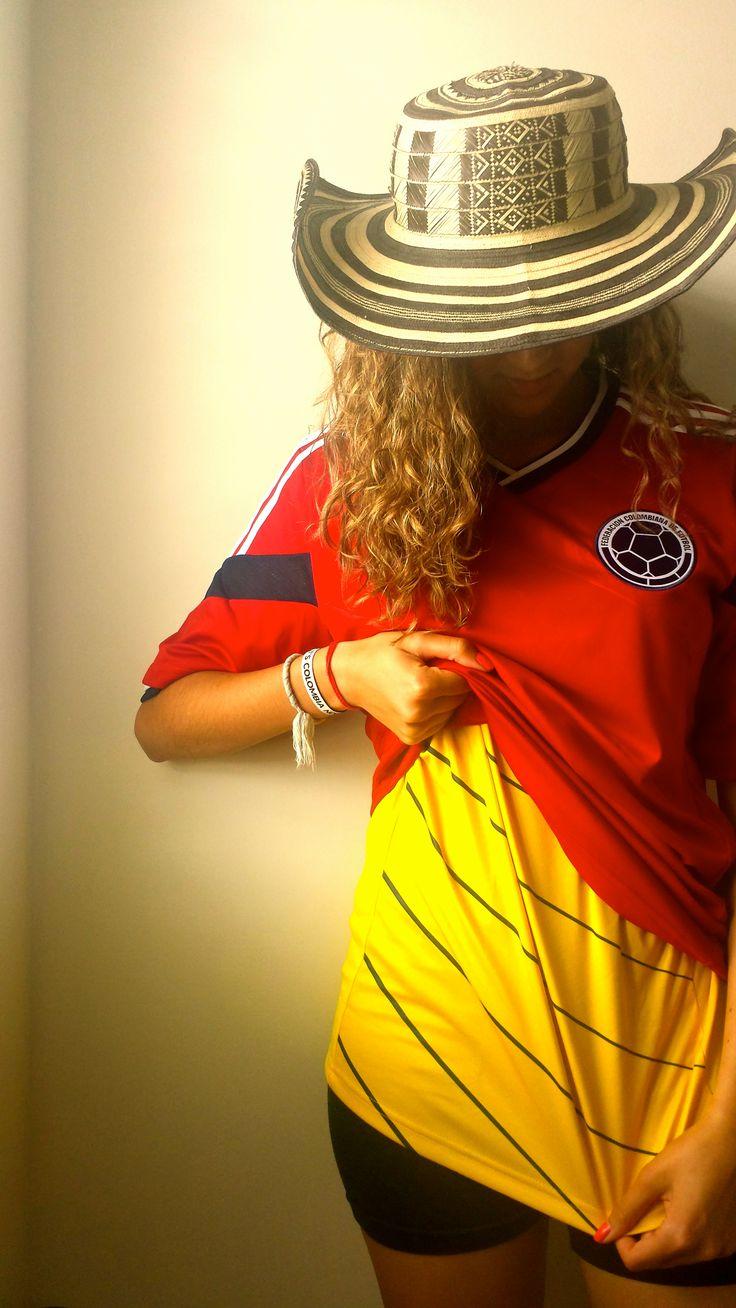 Colombia Colombian Jersey Worldcup 2014 Brazil Soccer  world cup! Mi hermosa y bella selección Colombia!