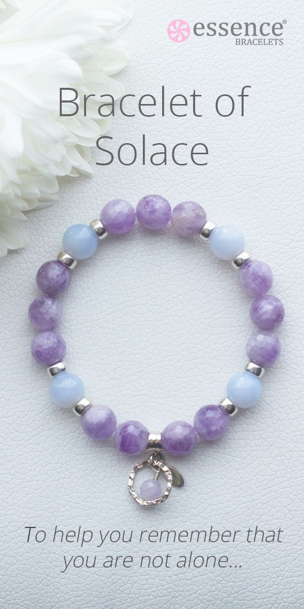 Essence Bracelets- Healing Inspired Jewelry. Each bracelet is lovingly handmade just for you by our healing practitioners with natural gemstones and sterling silver. A beautiful gift idea for someone who is grieving or needs some comfort through life's challenges. To see our full collection of energy healing jewelry, visit us at http://www.essencebracelets.com/shop/