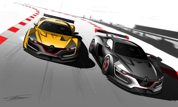 This week, it appears, is all about racing. First, we brought you Daniel Simon's passion for the sport in our exclusive video interview, we took a closer look at the design process of the LeMans-bound Ford GT in the Forza Motorsport video and now it's all about Renault Sport, specifically the awesome carbon fiber monocoque …