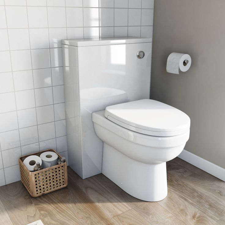 Contemporary styling and real practicality meet in this great value toilet and back to wall unit. For such a high specification piece it takes up surprisingly little space, protruding only 710mm from the wall. - £119