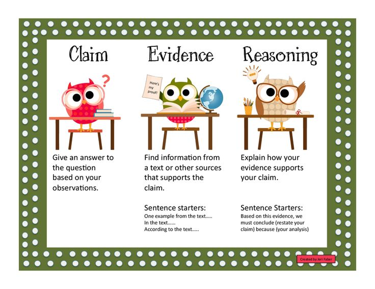 claim evidence reasoning cer                              …                                                                                                                                                                                 More
