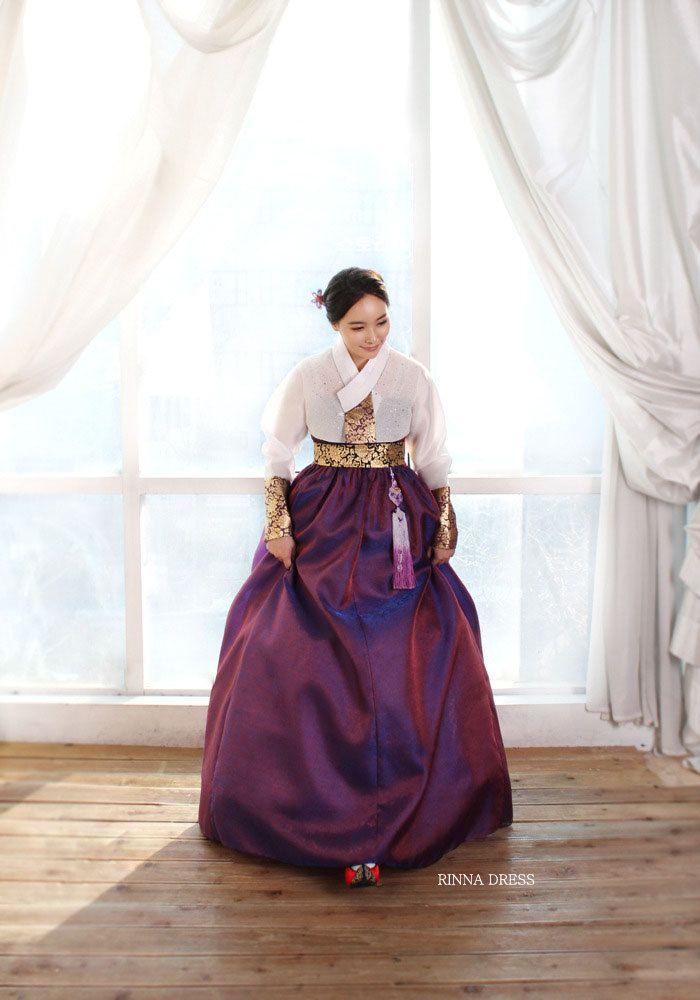 CO2197Hand Made Hot Pink Modern Korean  hanbok dress by Rinnadress, $450.00