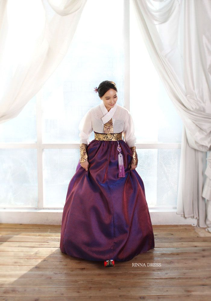 CO2197Hand Made Hot Pink Modern Korean  hanbok dress by Rinnadress, $450.00