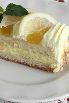 Lemon Lush .  layers of lemon pudding, sweetened cream cheese & whipped cream on a flaky pastry crust