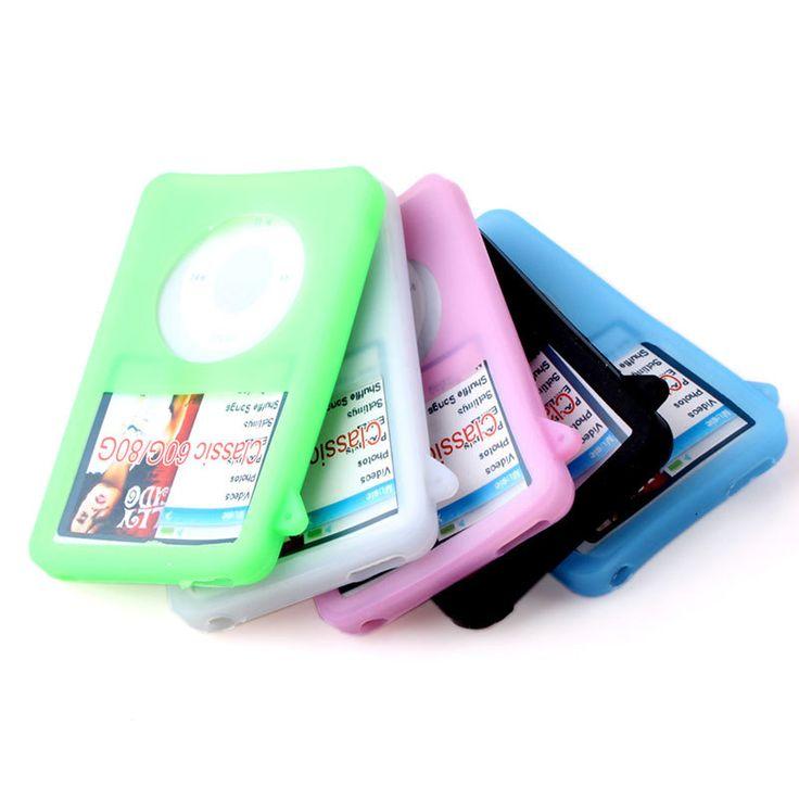 Силиконовый чехол чехол для iPod Classic 80 ГБ красочный # 58467 купить на AliExpress