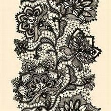 Image result for lace garter tattoo designs