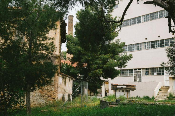 The bauhaus Sotiria hospital, 1932-35, by architect I. Despotopoulos