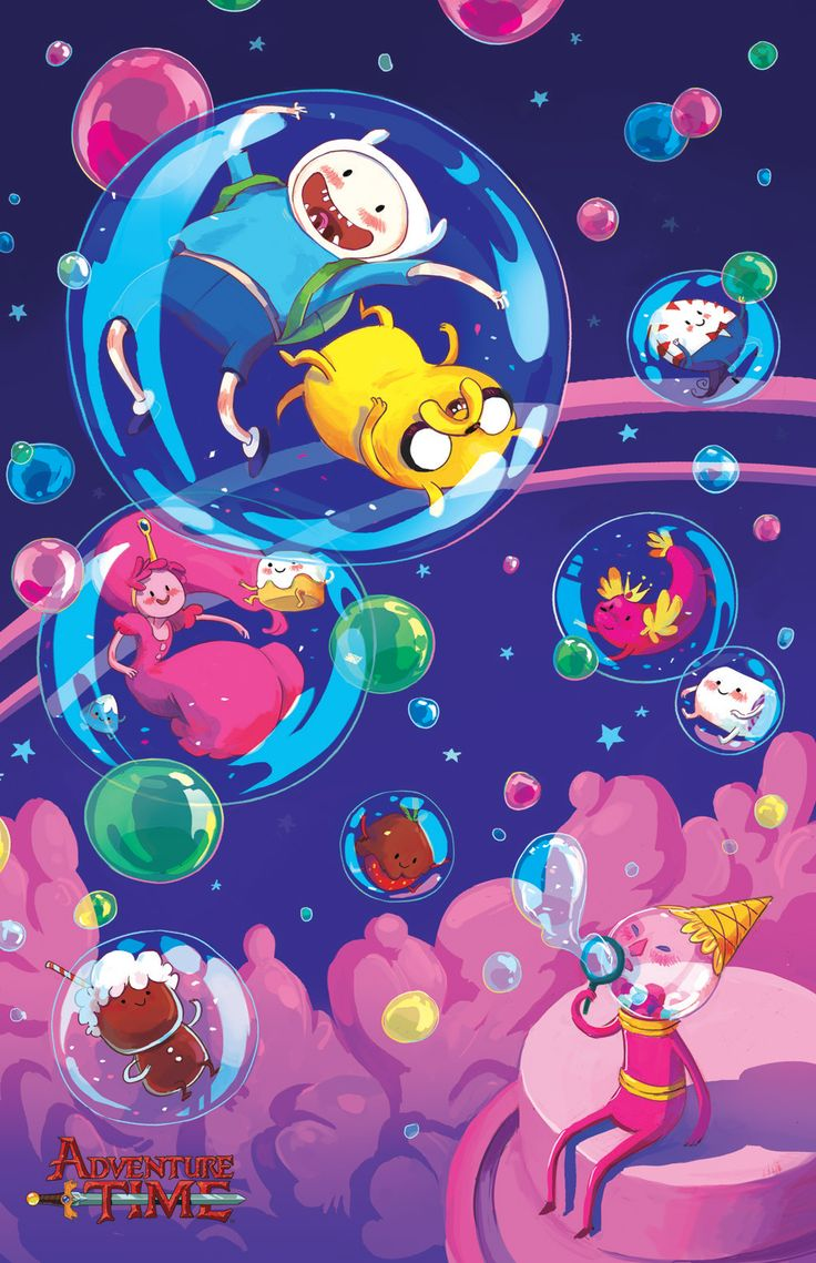 Adventure Time #27 KaBOOM!'s Adventure Time #27 is out in the universe today. Ryan North wrote it, guest artistJim Rugg drew it.Brittney Williams, Sabrina Scott, and Tom Hunter created the covers along with Chrystin Garland, whose cover D is above. Head to your local comics emporium or order one online from BOOM!