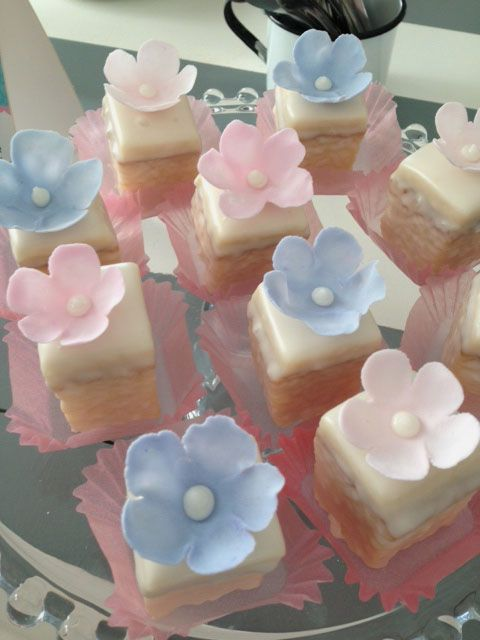 Petit fours from my Love to bake Class