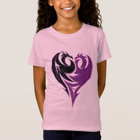 Mal Dragon Heart T-Shirt - click/tap to personalize and buy