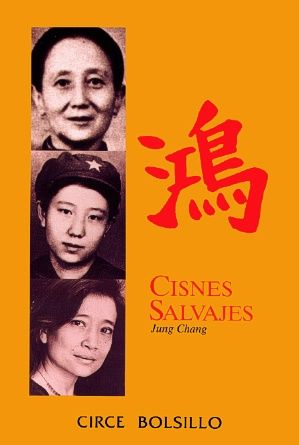 Todos los libros de Jung Chang están prohibidos por el gobierno chino desde hace décadas. En éste en concreto, la autora nos cuenta la historia de tres generaciones de mujeres -ella, su madre y su abuena- en la China del siglo XX.