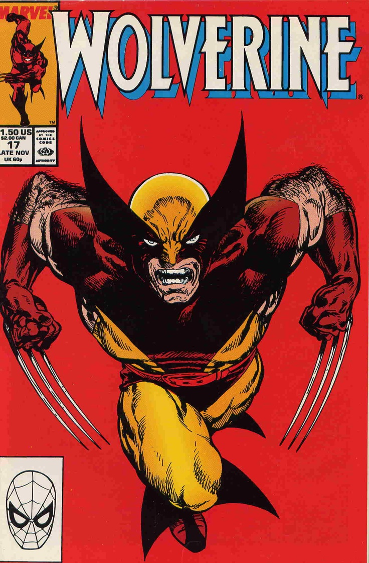 Comic Book Cover Art ~ John bryne cover wolverine cool comic book covers