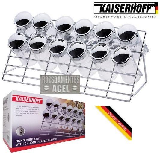 KAISERHOFF 13 db-os ÁLLVÁNYOS FŰSZERTARTÓ KÉSZLET LÉGMENTESEN ZÁRÓDÓ SÓTARTÓ PAPRIKATARTÓ stb. - Műszaki cikkek elektronika szerszám nagykereskedelem és kiskereskedelem - webáruház, webshop