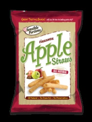 Bought these at Sams. I love them dipped in a little whipped low fat cream cheese, sweetened with splenda. By themselves they taste like those fried cinnamon desserts you get at a Mexican fast food with a hint of apple. YUM!