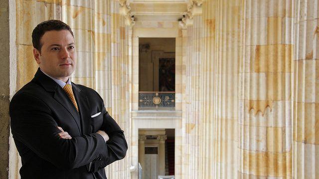 Andres Garcia Zuccardi. Con solo 31 años, Andres Garcia Zuccardi es el Senador más joven del Congreso de la República de Colombia para el periodo legislativo 2014 - 2018