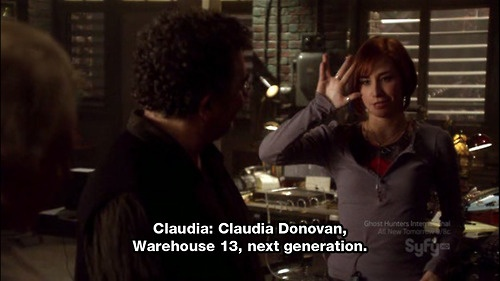 Warehouse 13, Season 1 Episode 6, Claudia Donovan.