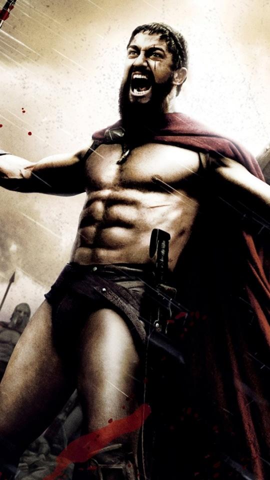 Gerard Butler as King Leonidas, 300