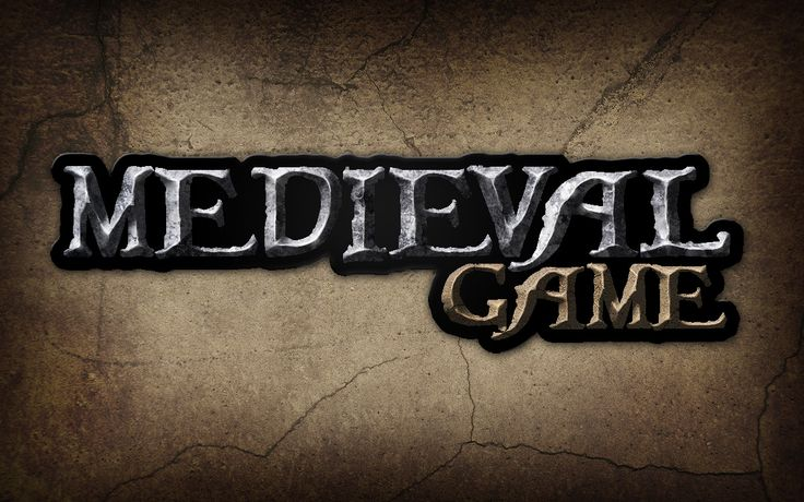 Illustrator: Give a Medieval Game Logo a Rough Stone Look