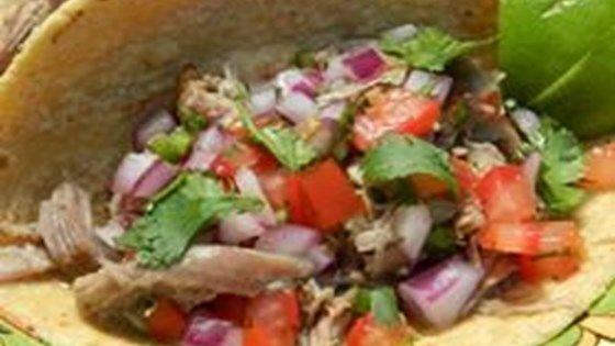 Many find carnitas a little dry or flavorless. These have a great, distinctive flavor and are requested by friends and family over and over. Serve with warm, fresh tortillas and salsa.