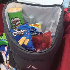 Pack and go for a quick picnic with our Cooler Backpack
