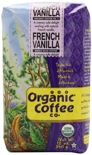The Organic Coffee Company Whole Bean Coffee, French Vanilla, 12 Ounce The Organic Coffee Co. http://www.amazon.com/dp/B012D8BHRQ/ref=cm_sw_r_pi_dp_QlLZwb1YRRSP5