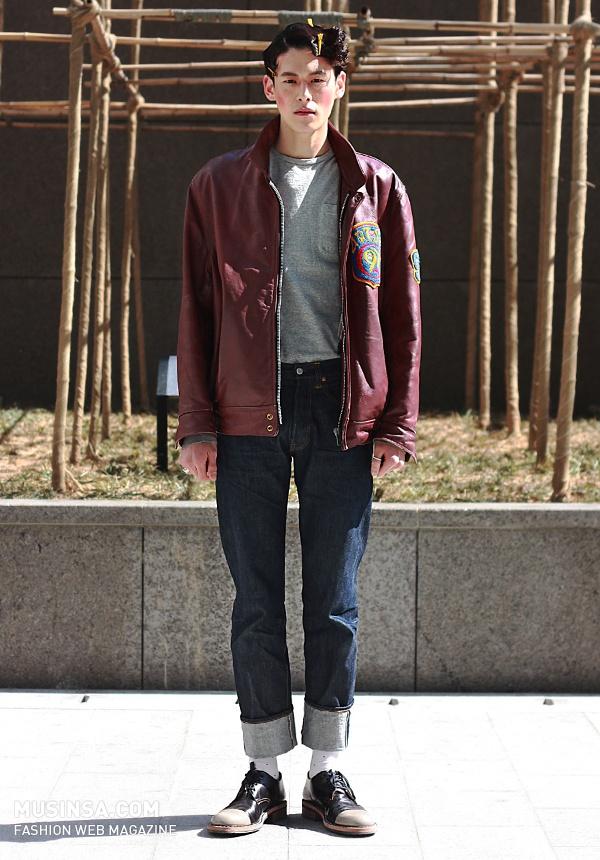 이름(나이) : 김원중 (27) 촬영 : 2013년 04월 [2013춘계서울패션위크]
