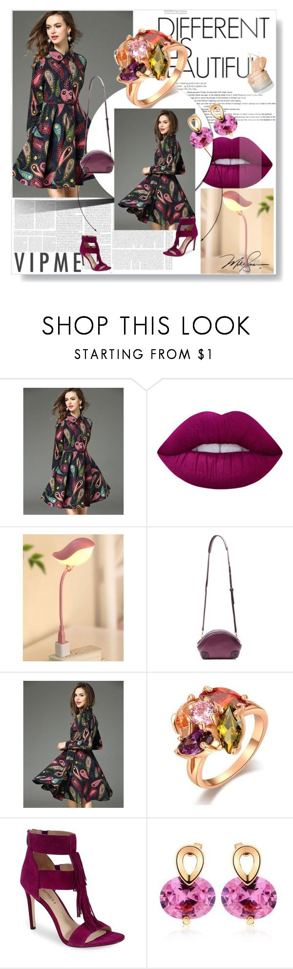 """VIPME - Use COUPON CODE & get 10% OFF!! Hurry up!"" by passionforstyleandfashion ❤ liked on Polyvore featuring Lime Crime, Via Spiga and vipme"