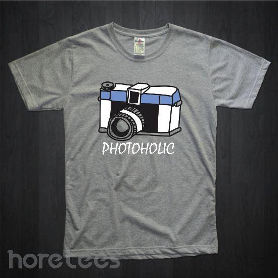 Photoholic Camera dari tees.co.id oleh Hore Tees