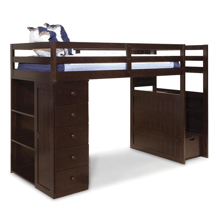 1000 ideas about stair drawers on pinterest handmade bedroom furniture full bunk beds and - Bunk bed with drawer steps ...