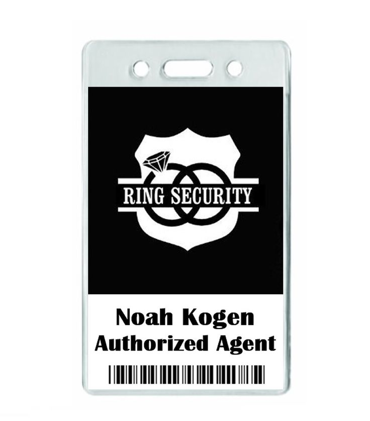 A personal favorite from my Etsy shop https://www.etsy.com/listing/254780684/personalized-ring-security-badge-special