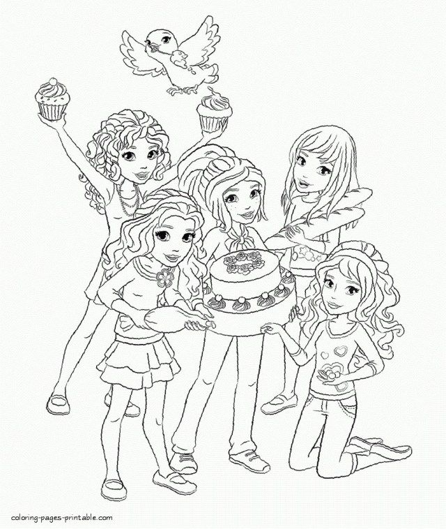 - 25+ Brilliant Image Of Lego Friends Coloring Pages - Entitlementtrap.com Lego  Friends, Lego Coloring, Lego Friends Birthday Party