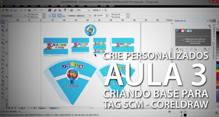 Como criar personalizados profissionalmente #3 - Criando base para tag d...