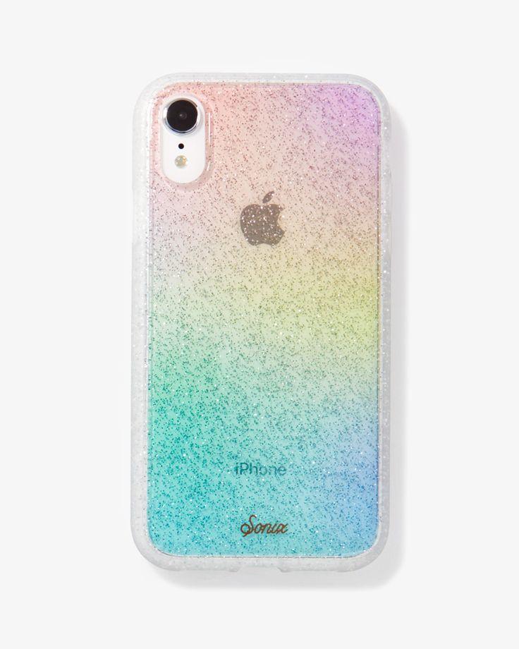 Rainbow Glitter, iPhone XR