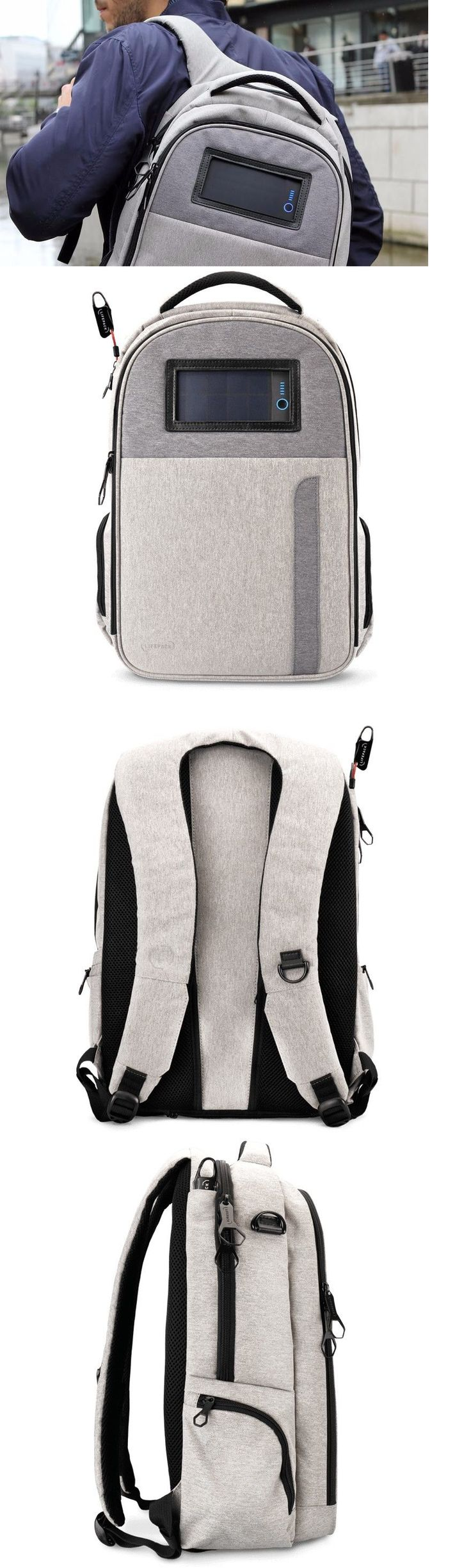 Portable Stereos Boomboxes: Solar Powered Backpack With Bluetooth Speaker, Headphones, Secret Pocket, Laptop -> BUY IT NOW ONLY: $269 on eBay!