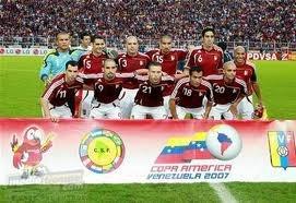 La Vinotinto, la selección nacional de futbol