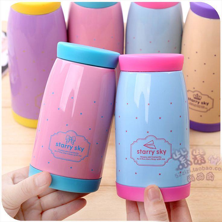 Elegante 280 ml / 500 ml garrafa térmica de a caneca térmica garrafa garrafa de vácuo copos em Garrafas Térmicas de Casa & jardim no AliExpress.com   Alibaba Group