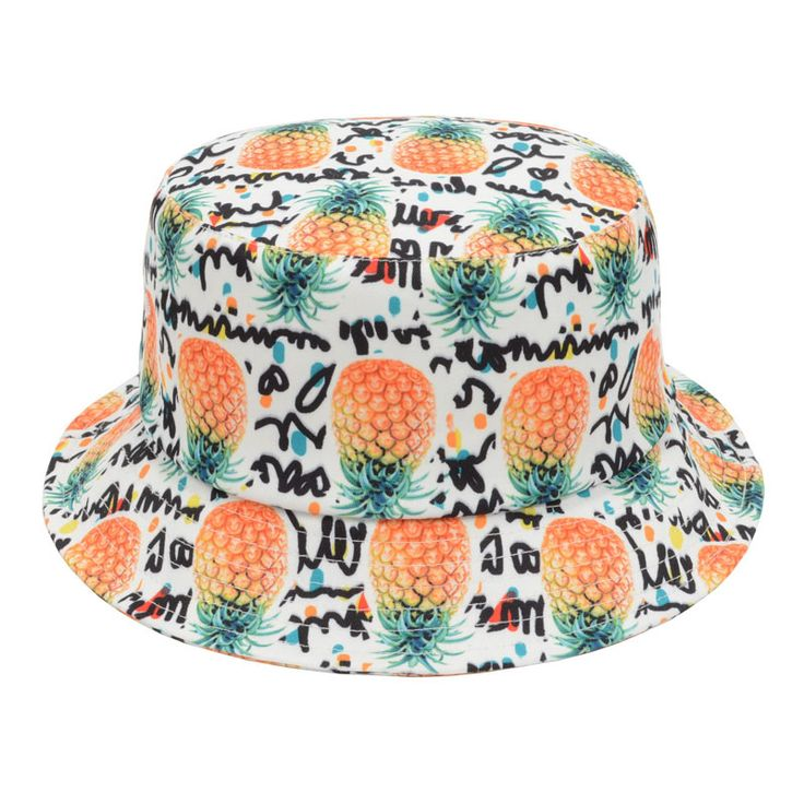 Pineapple Printed Bucket Hats For Women Men New Fashion Lovely Summer Casual Outdoor Sun Cap Hiking Fishing Hats http://www.aliexpress.com/store/product/Banana-Pineapple-Printed-Bucket-Hats-For-Women-Men-New-Fashion-Lovely-Summer-Casual-Outdoor-Sun-Cap/1201637_32333836571.html