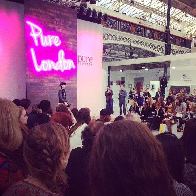 Come visit us at Pure London, Stand T274! @FLOR AMAZONA #floramazona #fashion #jewelry #jewellery #happy #pure #pure2014 #purelondon #model #...