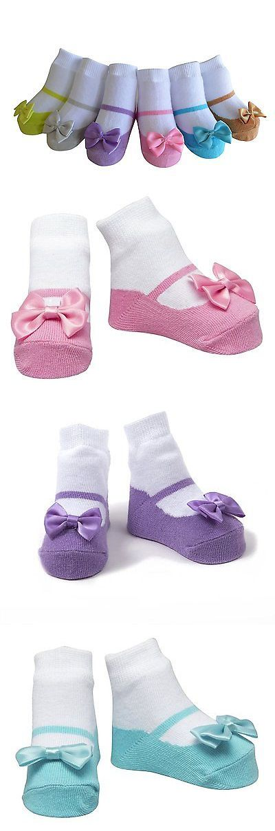 Baby Boxes 117390: Baby Emporio-6 Pr-Baby Girl Socks That Look Shoes-Cotton-Gift Pouch -> BUY IT NOW ONLY: $32.57 on eBay!