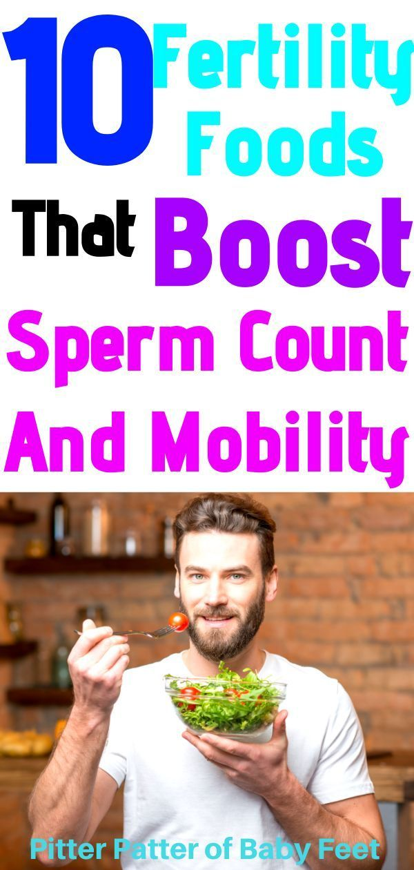 where male infertility diet