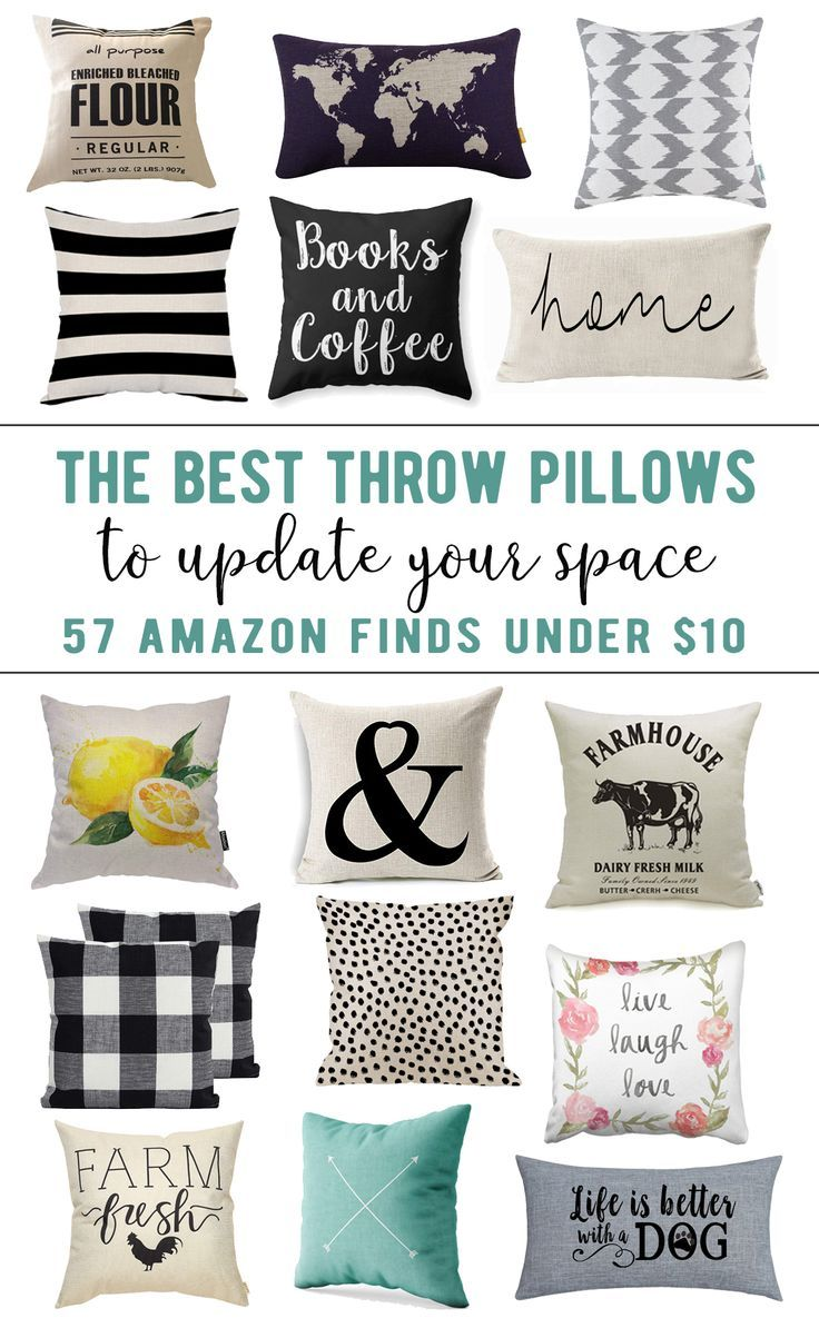 57 Amazing Throw Pillow Covers Under 10 Easily Update Your Space