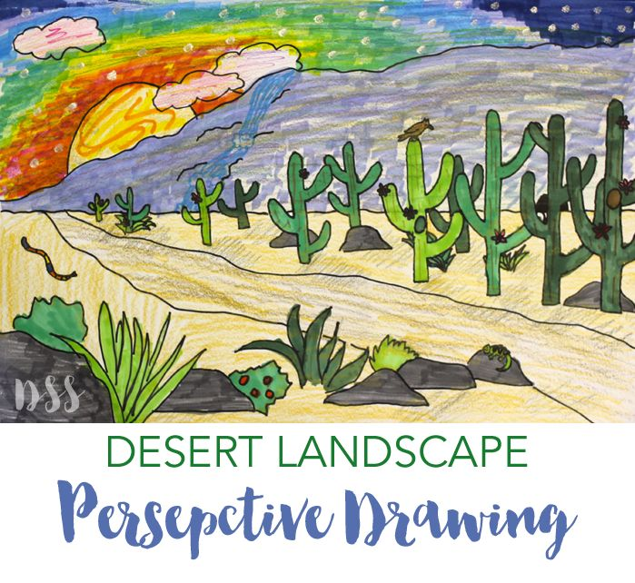 How to Draw a Perspective Landscape | Deep Space Sparkle