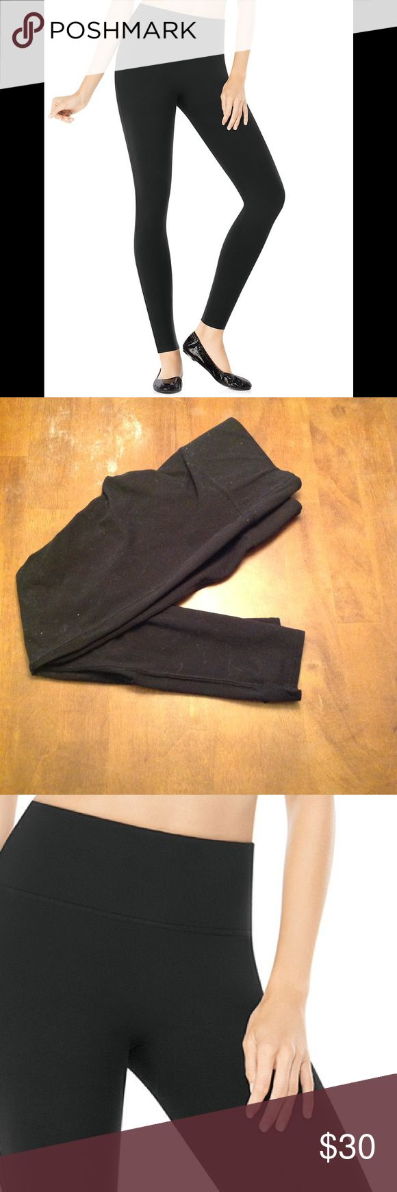 Spanx ready to wow leggings Built in tummy support panel. Best leggings I've ever owned. Some minor fabric pilling. Otherwise in great condition. SPANX Pants Leggings