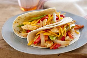 Weeknight Chicken Fajitas