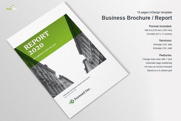 Business Brochure / Report by Imagearea on @creativemarket